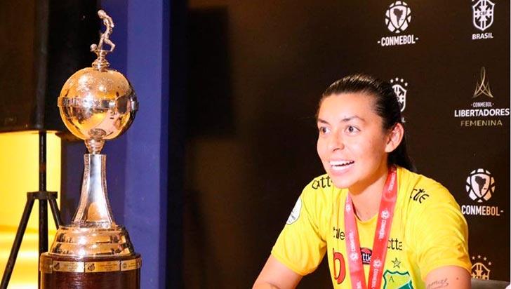 Tras protesta de Yoreli Rincón, jugadoras del Huila recibirán premio por ganar Libertadores