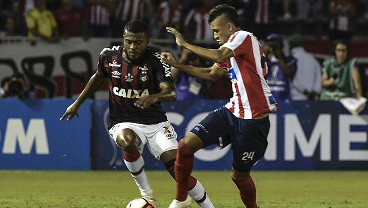 Junior empató 1-1 con Paranaense y el campeón de la Suramericana se definirá en Brasil
