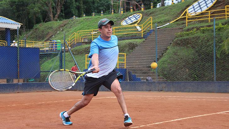 Este viernes continúa el máster de tenis del Bolo Club