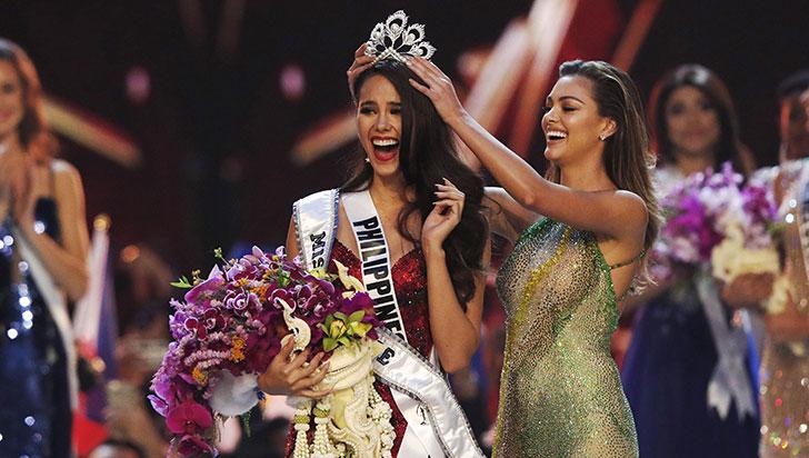 Catriona Gray, señorita Filipinas, fue elegida como la nueva Miss Universo