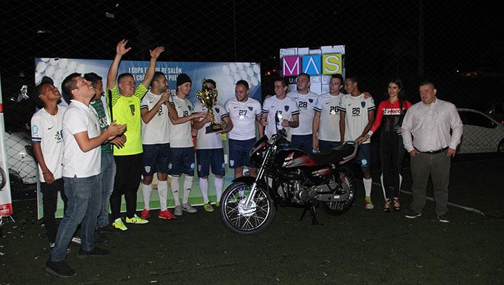 Inside, como una familia, campeón de la I Copa Fútbol de Salón