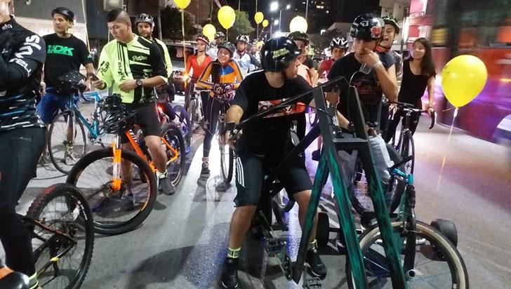 """Ciclistas denuncian que los  ladrones """"los tienen azotados"""""""