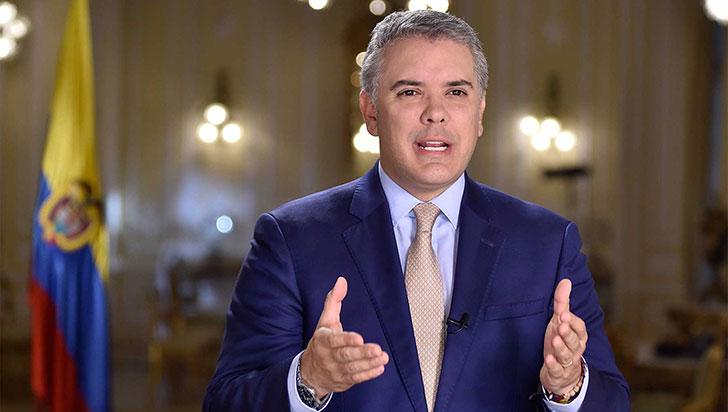 Duque invitó a los colombianos construir juntos en 2019 la agenda del país