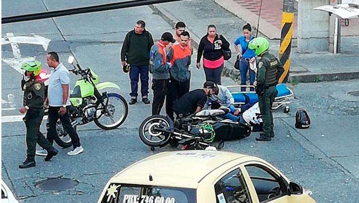 Conductor habría ocultado carro tras chocar con motociclista