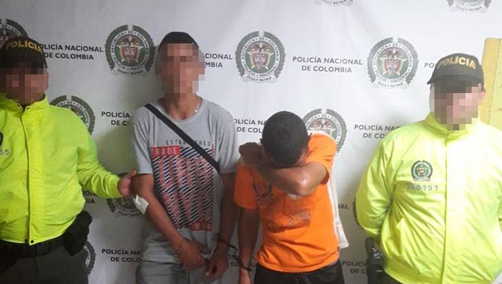 Capturados por hurto en La Tebaida