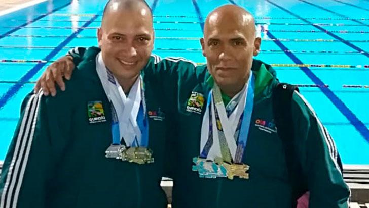 Betancourt y Ceballos fueron figuras en piscina corta en Cali