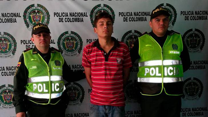 Capturan a hombre condenado por el delito de hurto calificado y agravado