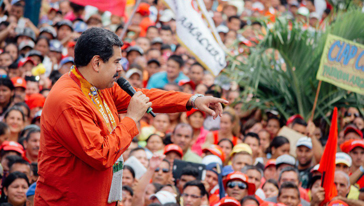 Maduro afirma que Iván Duque es un