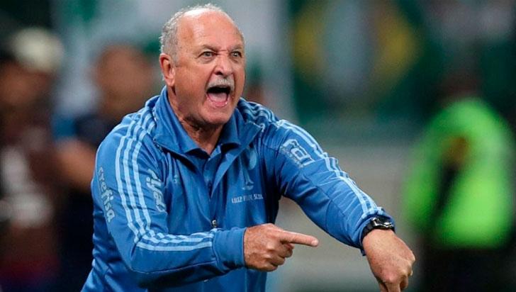 Scolari descartó su llegada a la selección Colombia