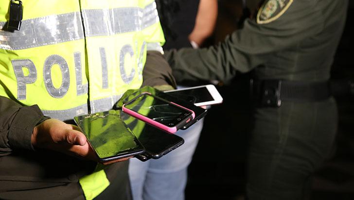 Capturaron a una quindiana por robar celulares en el carnaval de Riosucio