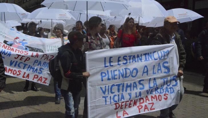 Víctimas colombianas piden a Duque medidas para proteger a líderes sociales