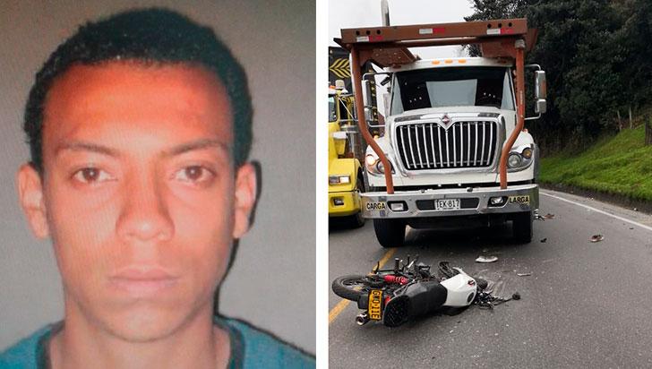 Motociclista murió al chocar contra camabaja en La Línea