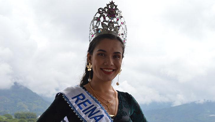 Johanna Ramírez, reina del turismo por el Quindío