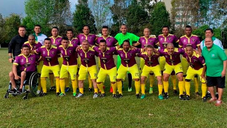 Quindío interviene en Sénior Máster de Fútbol de Cauca