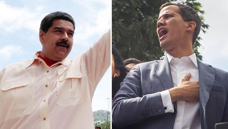 """""""Allá ellos con su show y su juego"""": Maduro desestimó anuncio de Guaidó"""