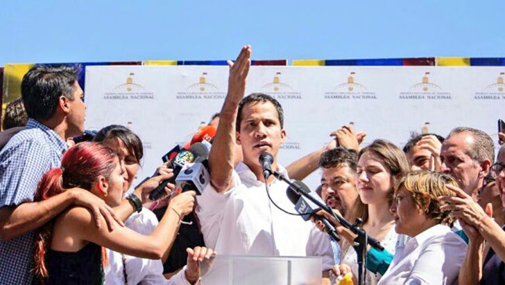 Breve detención de Juan Guaidó enrareció clima político en Venezuela
