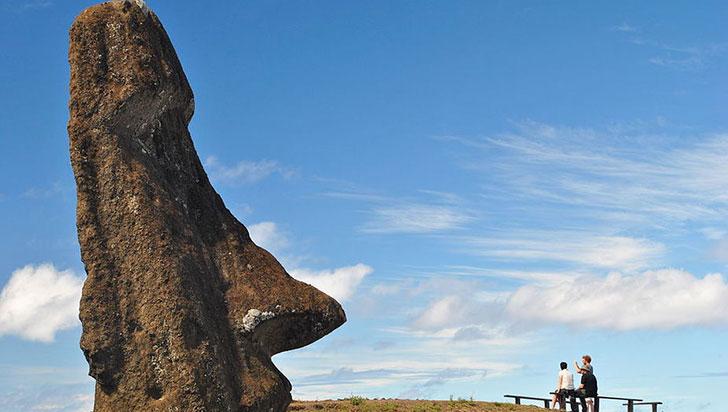 La ubicación de las estatuas de la Isla de Pascua tienen una razón y la ciencia acaba de descubrirla