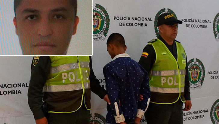 Capturan a alias Sebastián por el asesinato en San Andresito