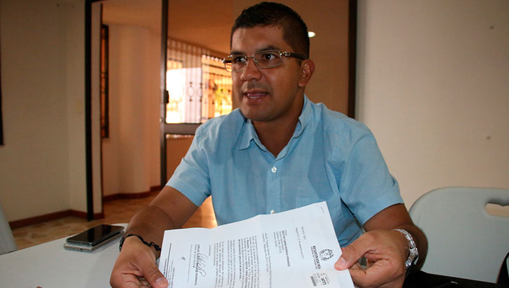 """""""Por trances políticos, la ciudad está en abandono"""": Néstor Fabián Herrera"""