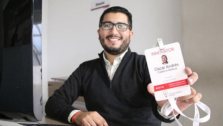Óscar Calderón, profesor del GI School, fue certificado por Google