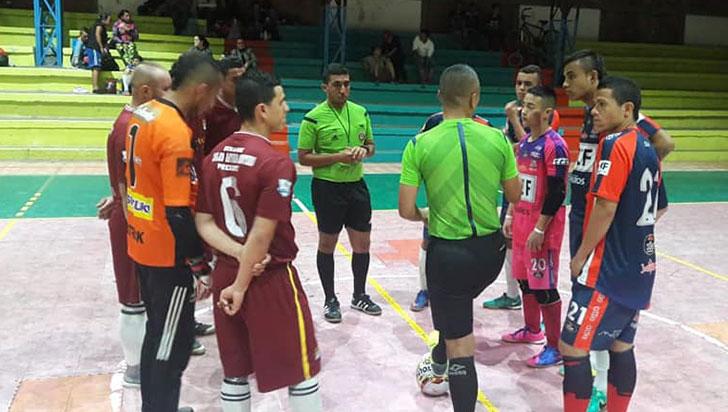 Quindío está en grupo D de futsal por eventos nacionales 2019