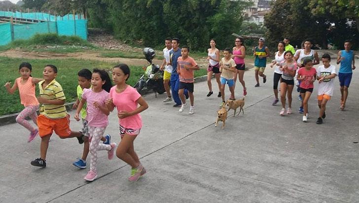 Semillero de atletismo de Quimbaya le madrugó a los eventos de 2019