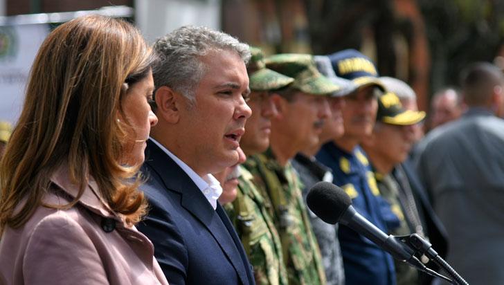 Tres días de luto nacional por atentado terrorista en Bogotá decretó el presidente Duque