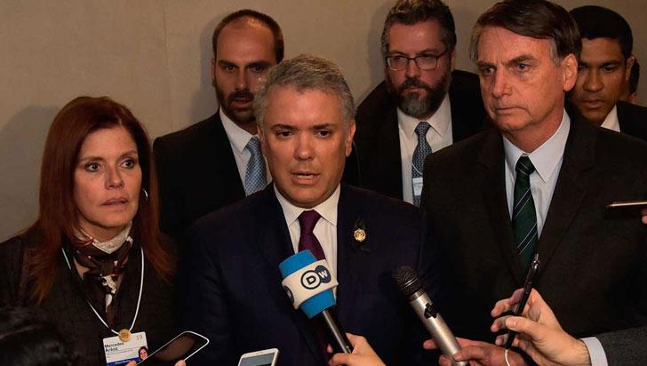 """""""Colombia reconoce a Juan Guaidó como presidente de Venezuela"""": Iván Duque"""