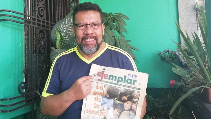Ejemplar, el periódico que narró los milagros del renacimiento después del terremoto