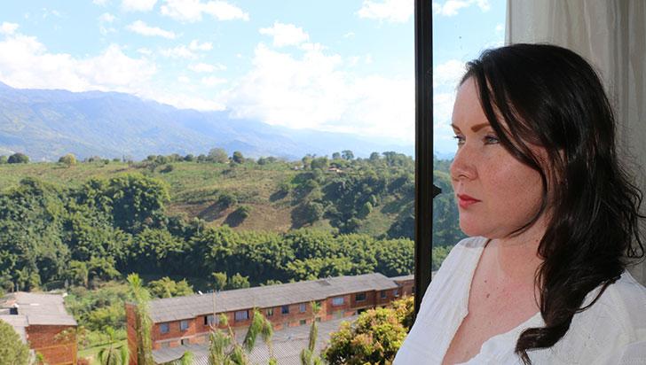 Ángela Marulanda vio la luz 17 horas después del sismo, tras su rescate