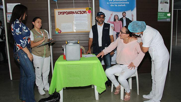 Se realizó la primera jornada de vacunación gratuita de 2019