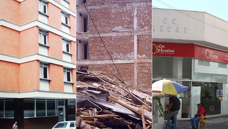 Antes y después del terremoto: lugares emblemáticos