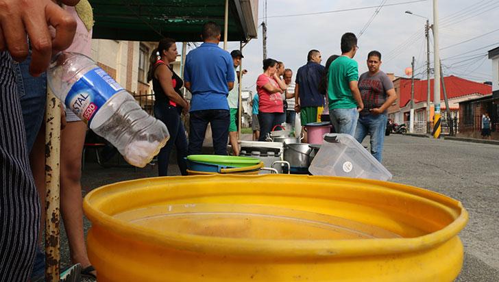 Armenia, más de 24 horas sin agua; EPA admitió que solución temporal fue insuficiente