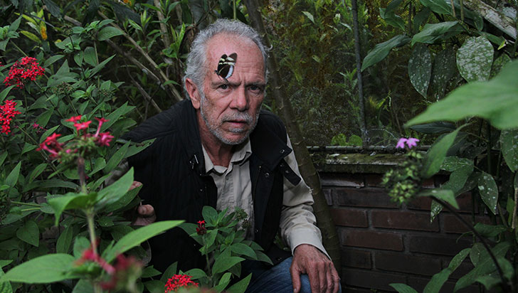 Jesús Vélez presentó su libro Colombia país de mariposas en el Jardín Botánico