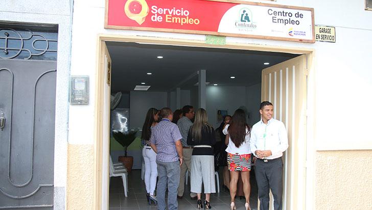 Por adecuaciones locativas, cerrada agencia de empleo de Comfenalco en Calarcá