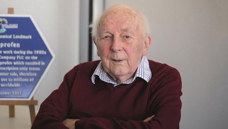 Falleció el creador del ibuprofeno