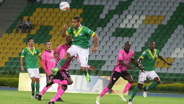Con empate de visitante 1-1 frente a Chicó, Deportes Quindío inició la B 2019