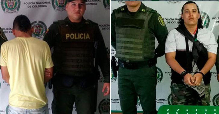 Dos presuntos 'jíbaros' cayeron en Calarcá
