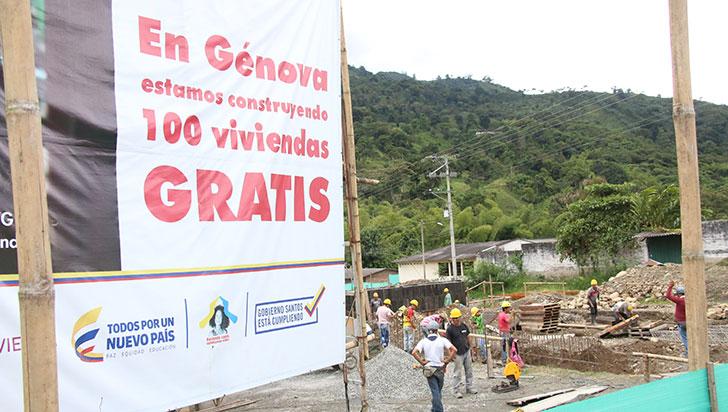Adquisición de maquinaria amarilla, logros a destacar del alcalde de Génova