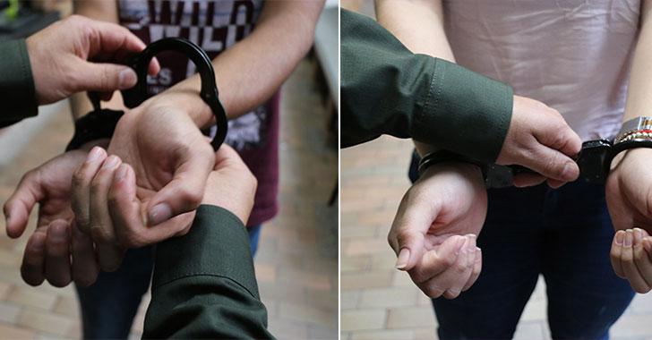 Detienen a dos extorsionistas para que cumplan condenas