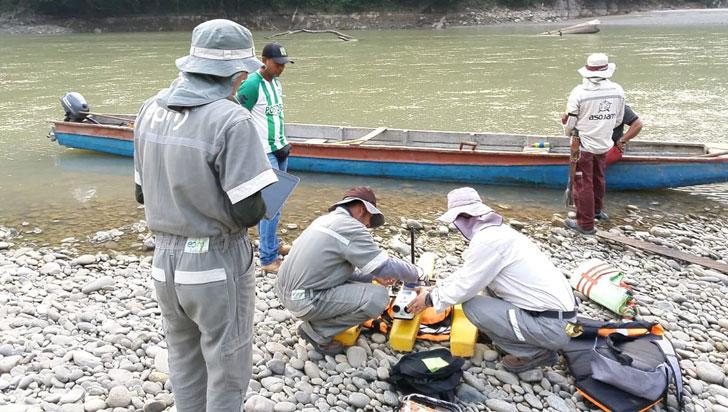 El caudaloso Cauca, segundo río más importante de Colombia, se muere de sed
