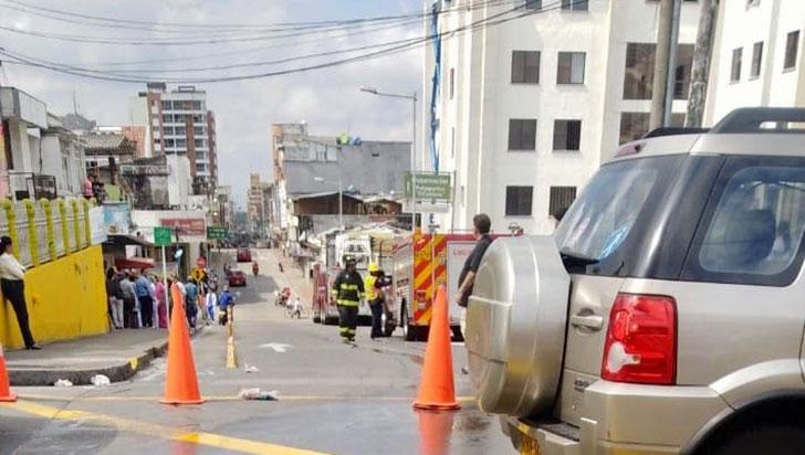 209 personas fueron evacuadas por explosión en la clínica La Sagrada Familia