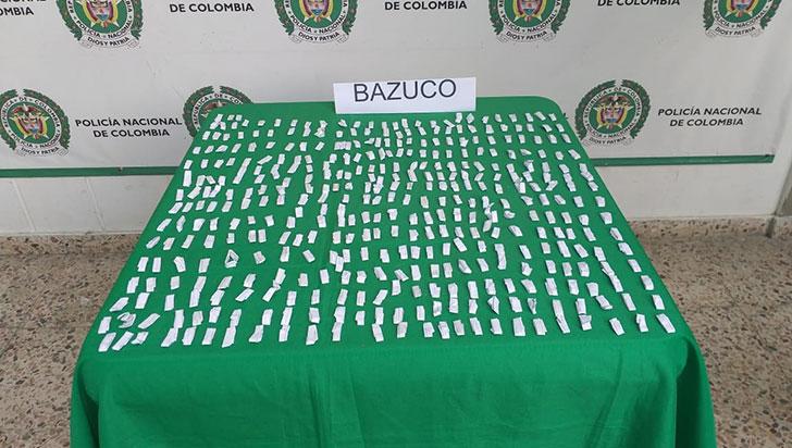 Detenido en Montenegro con 1.000 dosis de bazuco