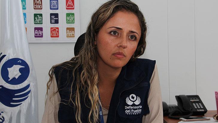 Recurso hídrico, prioridad para la defensora Luisa Fernanda León