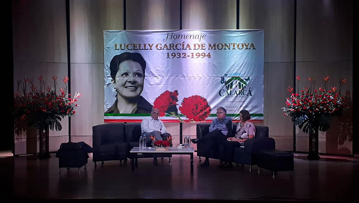 Tedeum, ofrenda y lanzamiento, en homenaje a Lucelly García
