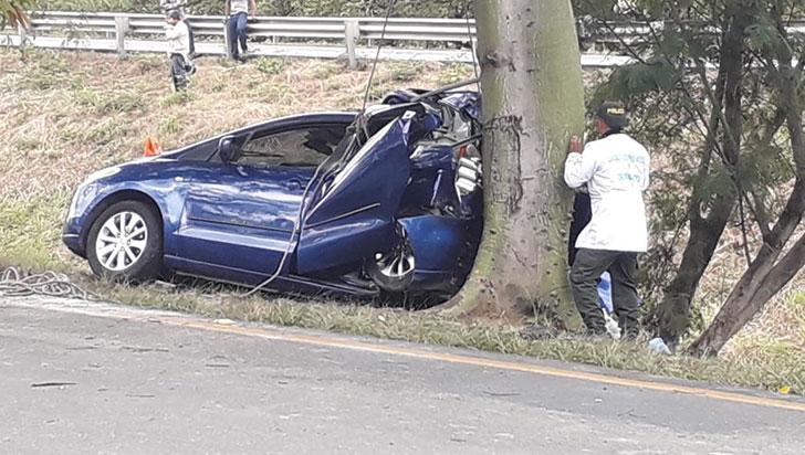 Calarqueña murió en accidente vial después de visitar al Señor de los Milagros