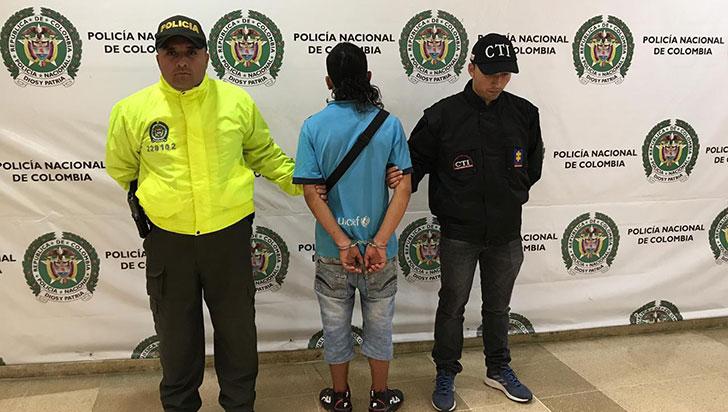 Encarcelan a presunto asesino de Diego Patiño