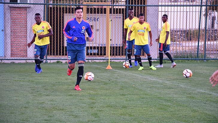 Ante Uruguay, Colombia, a avanzar al mundial sub-20