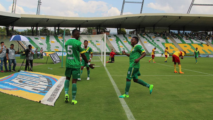 De local, Deportes Quindío contundente ante un débil Bogotá FC