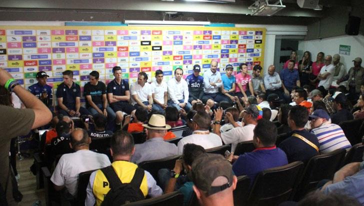 Froome, Nairo, Rigo, Gaviria y otras estrellas del ciclismo se citan en el Tour Colombia